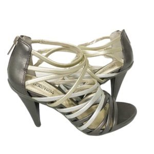 KENNETH COLE REACTION Strappy High Heels Size 7.5